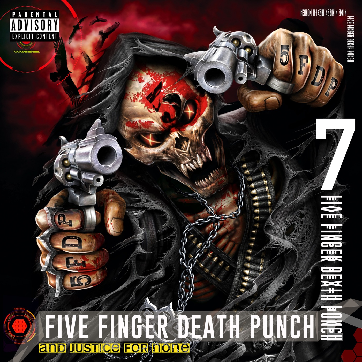 Five Finger Death Punch - And Justice for None [Deluxe] (2018)