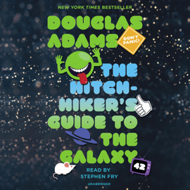 The Hitchhiker's Guide to the Galaxy (Unabridged) audiobook
