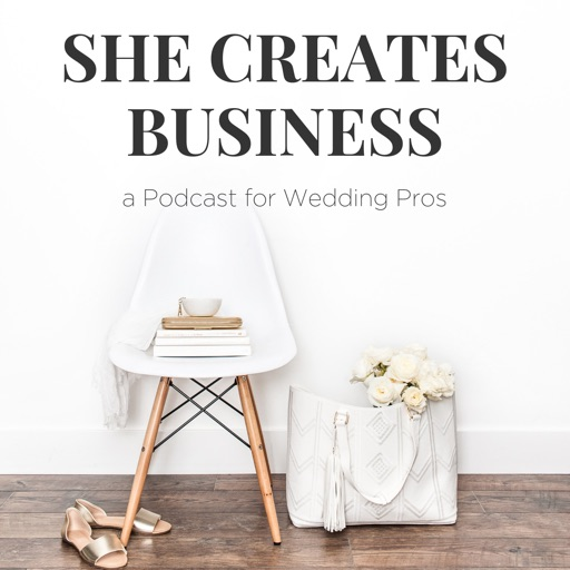 Cover image of She Creates Business   How to Start a Wedding Venue   How to Become a Wedding Planner   Marketing Your Wedding Business