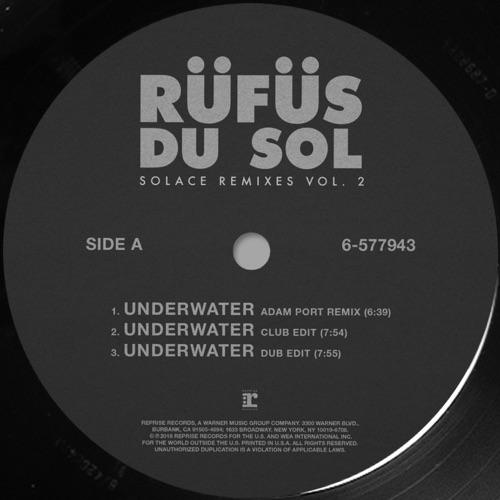 RÜFÜS DU SOL - Solace Remixes, Vol. 2 - Single