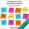 Gaspard Chevallier - Consejos para crear y desarrollar su empresa: Relato de una experiencia portada