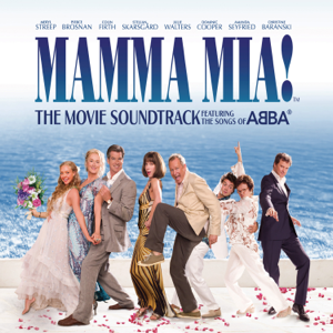 Cast of Mamma Mia the Movie, Philip Michael, Christine Baranski, Julie Walters & Stellan Skarsgård - Voulez-Vous