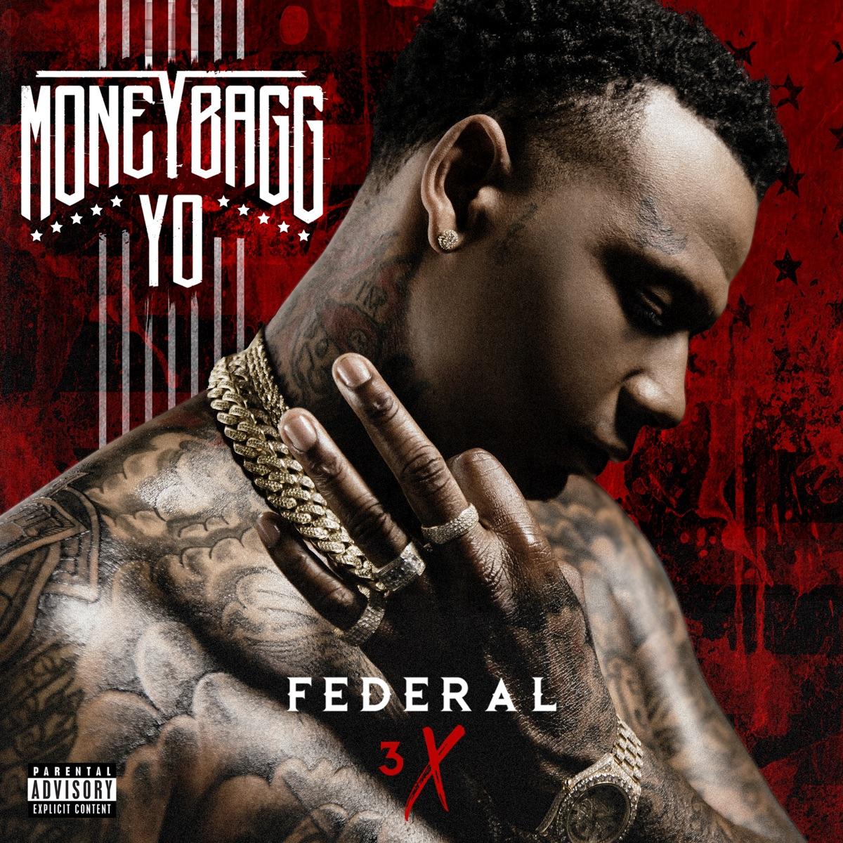Federal 3X Moneybagg Yo CD cover