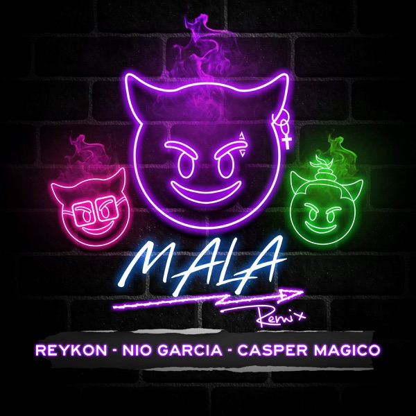 Mala (feat. Nio Garcia & Casper Mágico) [Remix] - Single