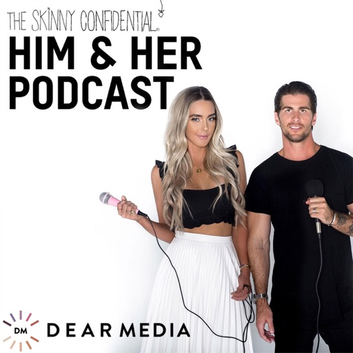 Cover image of The Skinny Confidential Him & Her Podcast