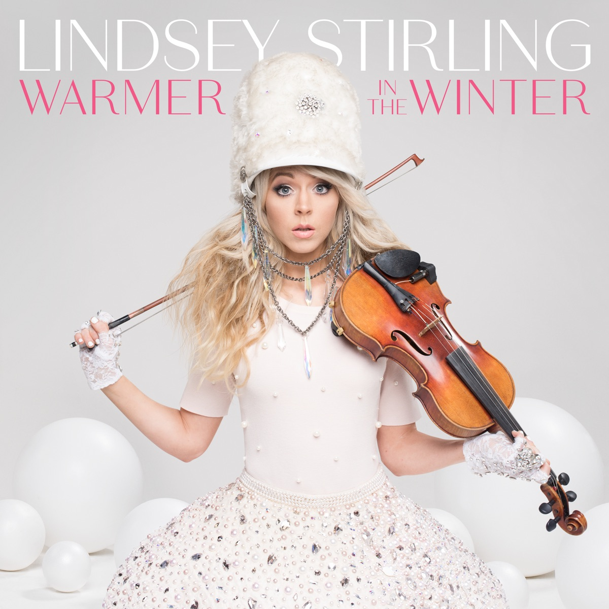 Warmer in the Winter Lindsey Stirling CD cover