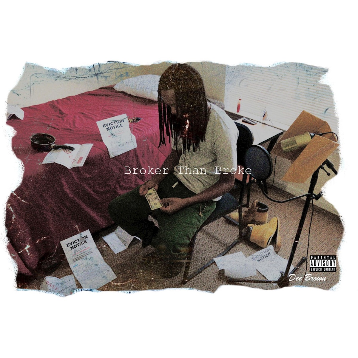 Broker Than Broke Dee Brown CD cover