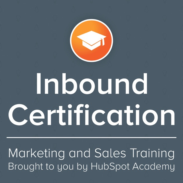 Inbound Certification for Upgrad (Syndication Partner) by HubSpot on ...