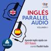 Lingo Jump - Inglés Parallel Audio [English Parallel Audio]: Aprende inglés rápido con 501 frases usando Parallel Audio - Volumen 1 (Unabridged)  artwork