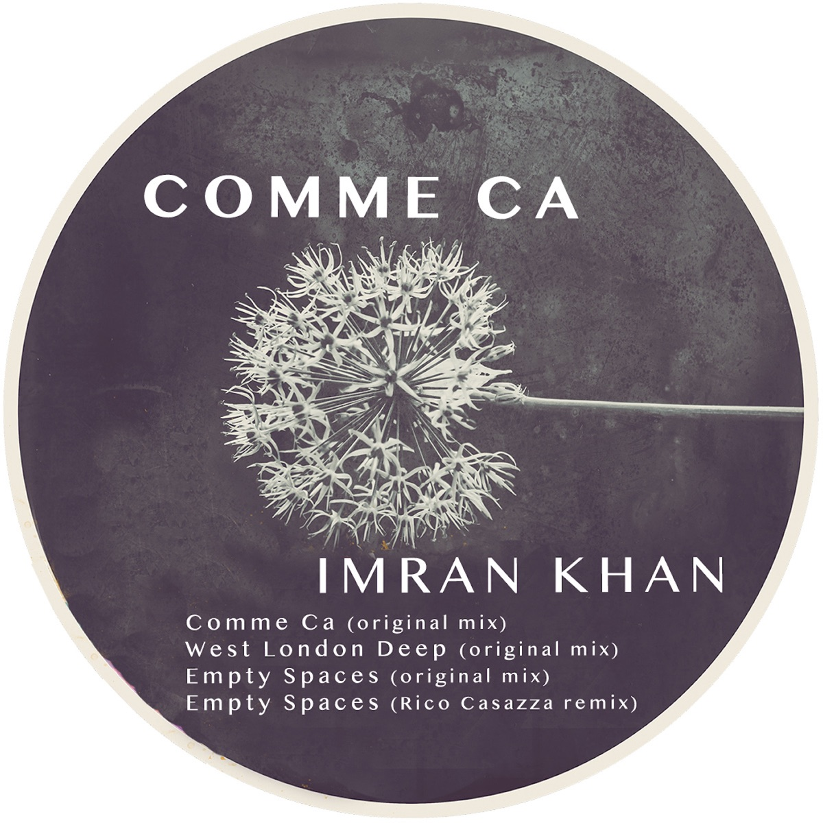 Comme Ca - EP Album Cover by Imran Khan