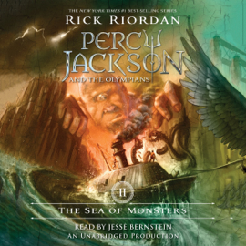 The Sea of Monsters: Percy Jackson and the Olympians, Book 2 (Unabridged) audiobook