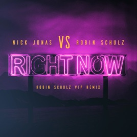 ‎Right Now (Robin Schulz VIP Remix) - Single by Nick Jonas & Robin Schulz  on iTunes