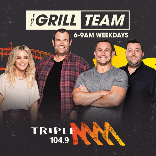 The Grill Team Catch Up - 104.9 Triple M Sydney - Matty Johns, Gus Worland, Mark Geyer, Emma Freedman & Chris Page