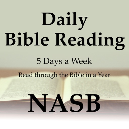 Cover image of Daily Bible Reading: NASB Translation