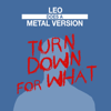 Leo - Turn Down for What (Metal Version) artwork