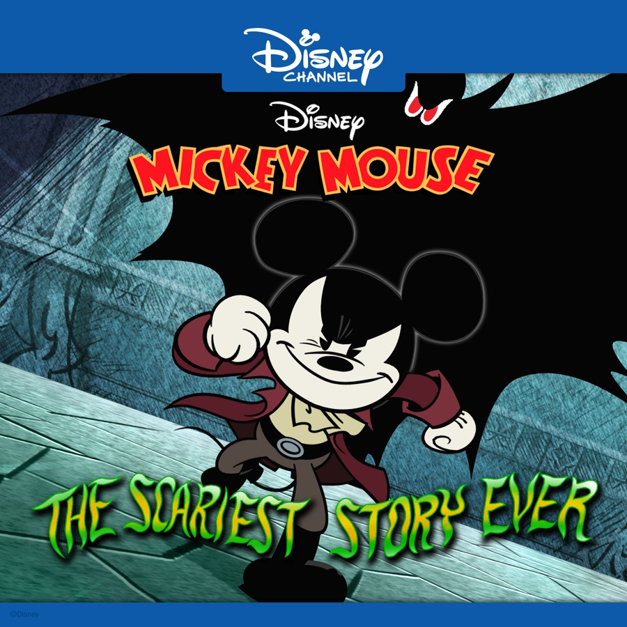 Disney Mickey Mouse, The Scariest Story Ever: A Mickey Mouse ...