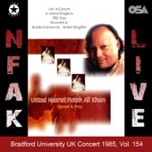 Bradford University UK Concert 1985, Vol. 154