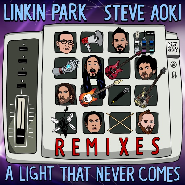 A LIGHT THAT NEVER COMES (Remixes) - EP
