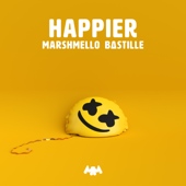 Happier - Marshmello & Bastille Cover Art