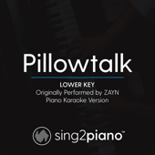 Pilowtalk (Lower Key) Originally Performed by Zayn] [Piano Karaoke Version]