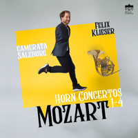 Felix Klieser & Camerata Salzburg - Mozart: Horn Concertos 1-4 artwork
