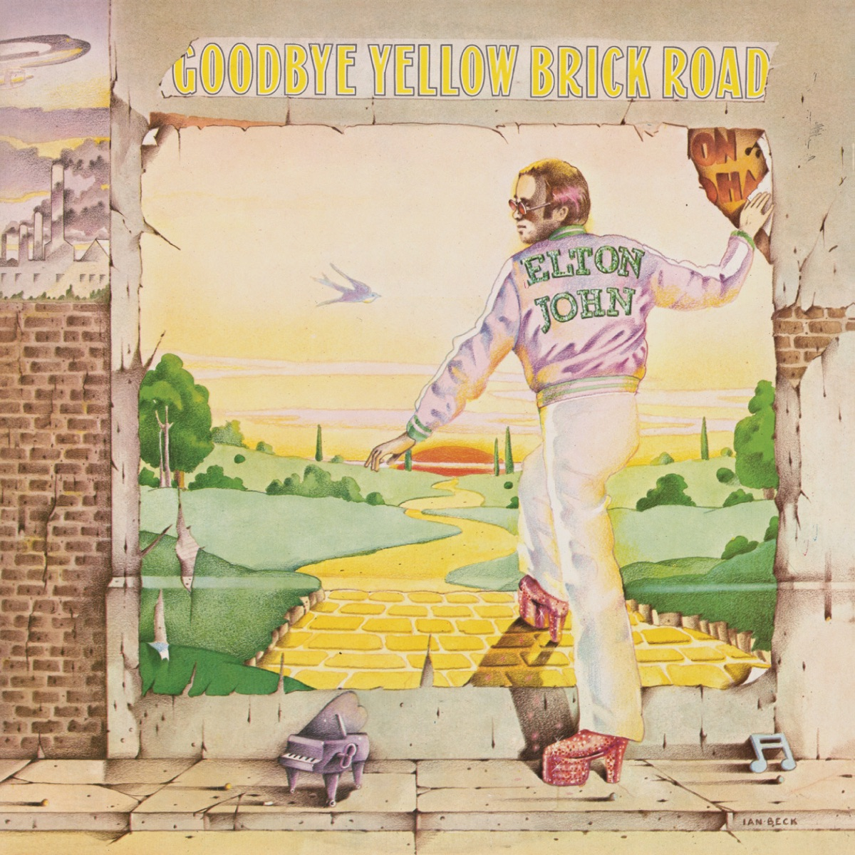 Goodbye Yellow Brick Road Remastered Elton John CD cover
