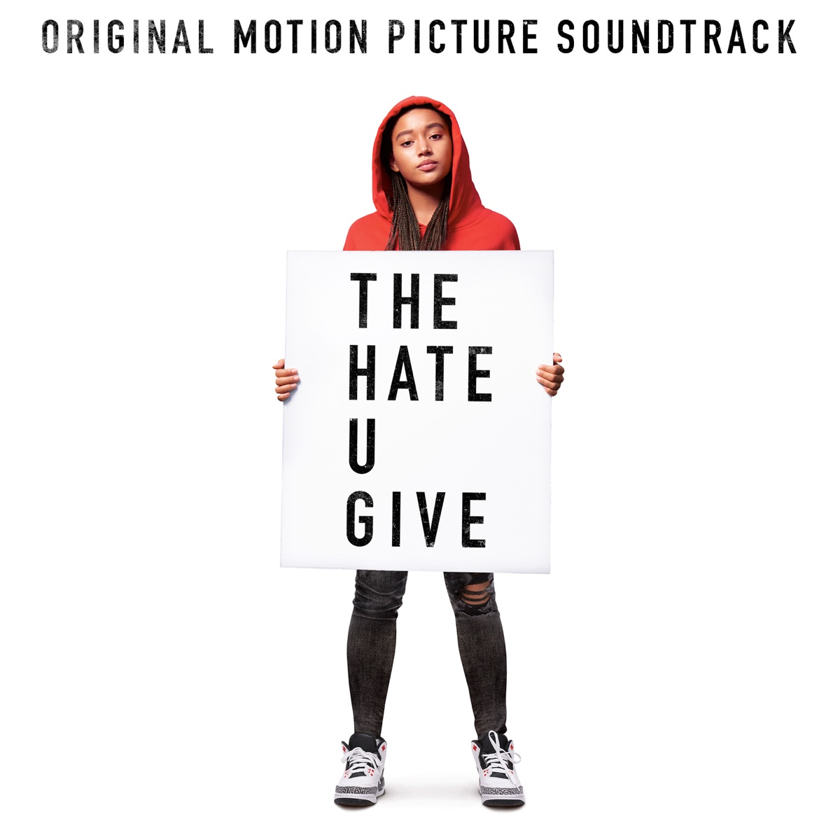 The Hate U Give Original Motion Picture Soundtrack Various Artists CD cover