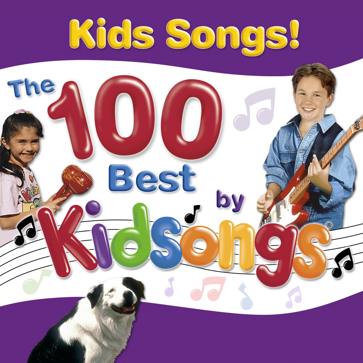 The 100 Greatest Kidsongs Collection Album Cover by Kidsongs