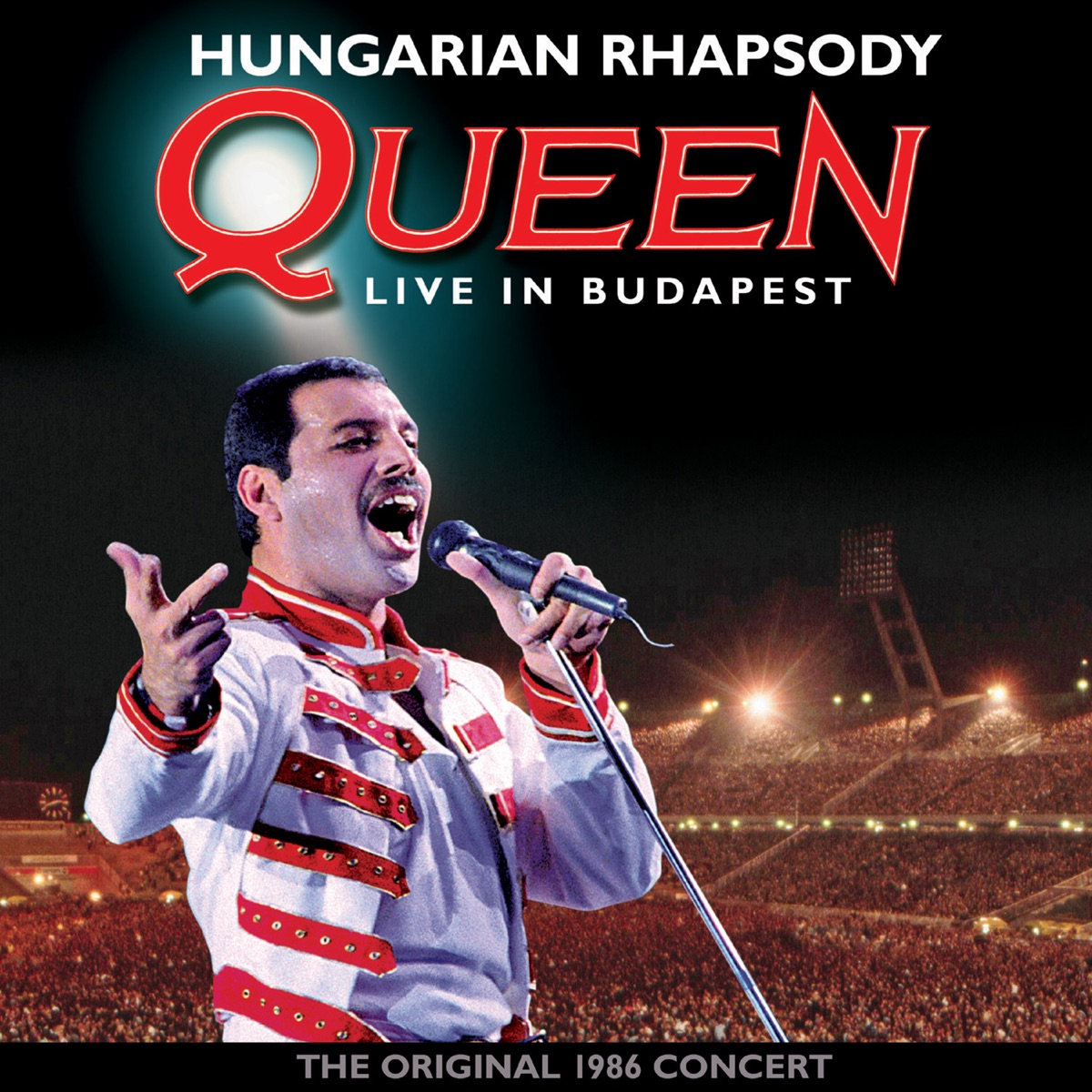 Hungarian Rhapsody Live In Budapest 1986 Queen CD cover