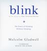 Malcolm Gladwell - Blink artwork
