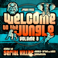 Various Artists - Welcome to the Jungle, Vol. 3: The Ultimate Jungle Cakes Drum & Bass Compilation artwork