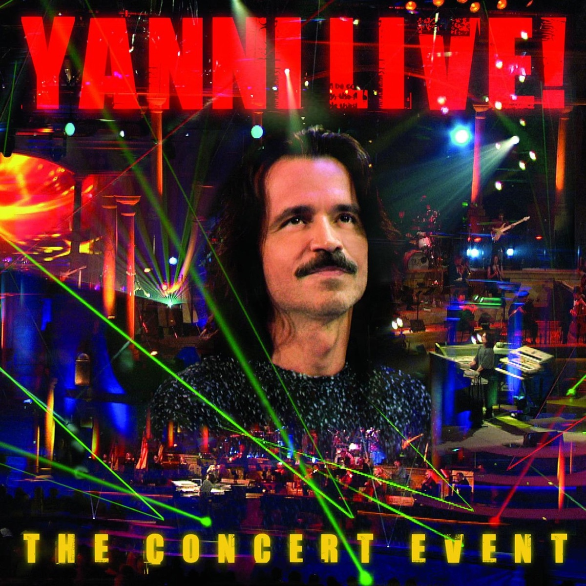 Yanni Live!: The Concert Event Album Cover by Yanni