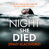 Jenny Blackhurst - The Night She Died (Unabridged) artwork