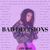 Lyric Rachae - Bad Decisions