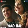 Yaad Hai From Aiyaary - Ankit Tiwari & Palak Muchhal mp3