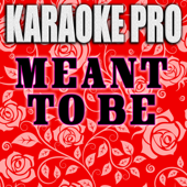 Download Karaoke Pro - Meant To Be (Originally Performed by Bebe Rexha & Florida Georgia Line) [Instrumental Version]