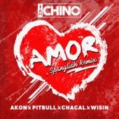Amor (Spanglish Remix) [feat. Akon, Pitbull, Chacal & Wisin] - Single
