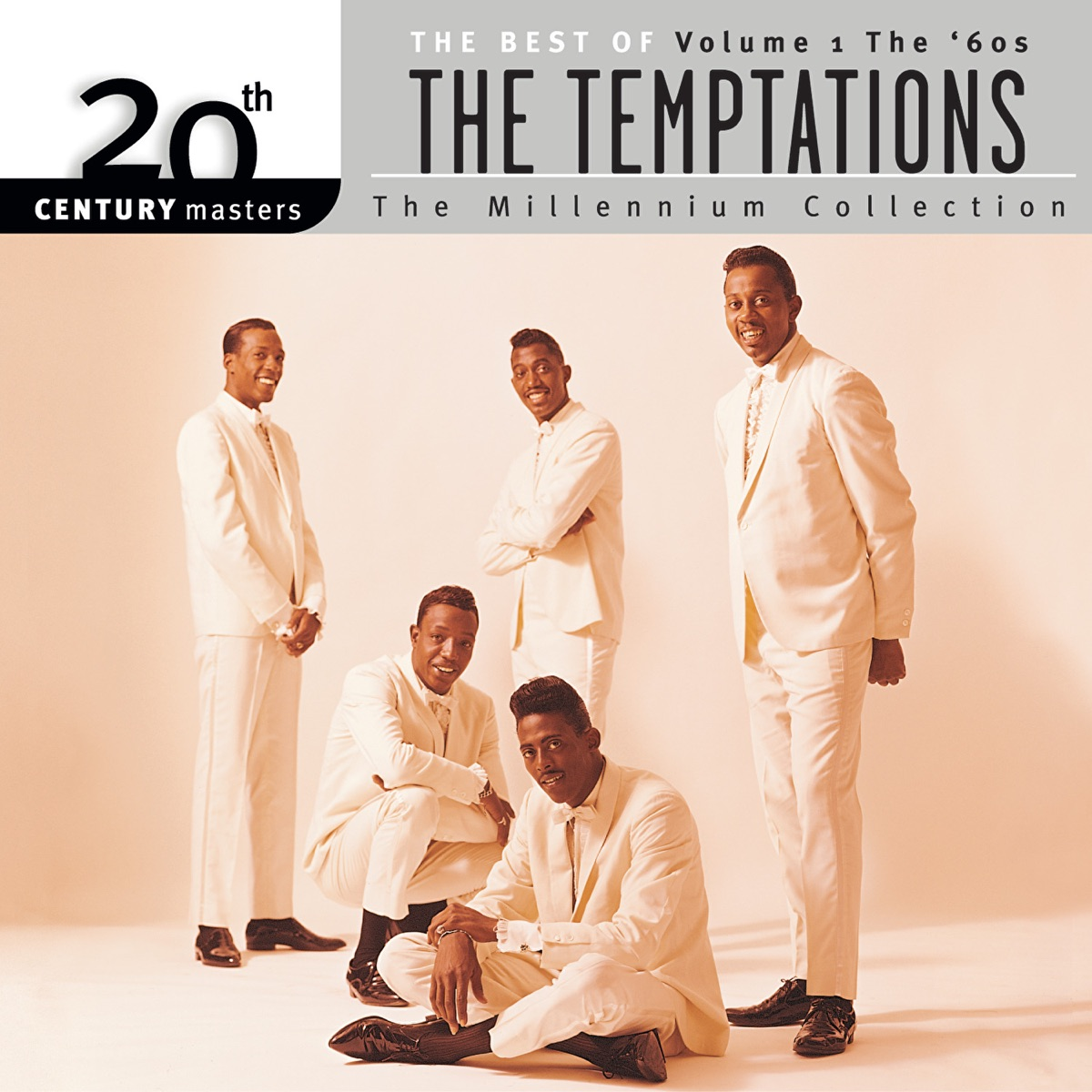 20th Century Masters - The Millennium Collection The Best of The Temptations Vol 1 The 60s The Temptations CD cover