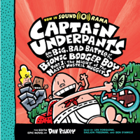 Dav Pilkey - Captain Underpants and the Big, Bad Battle of the Bionic Booger Boy, Part 1: The Night of the Nasty Nostril Nuggets artwork