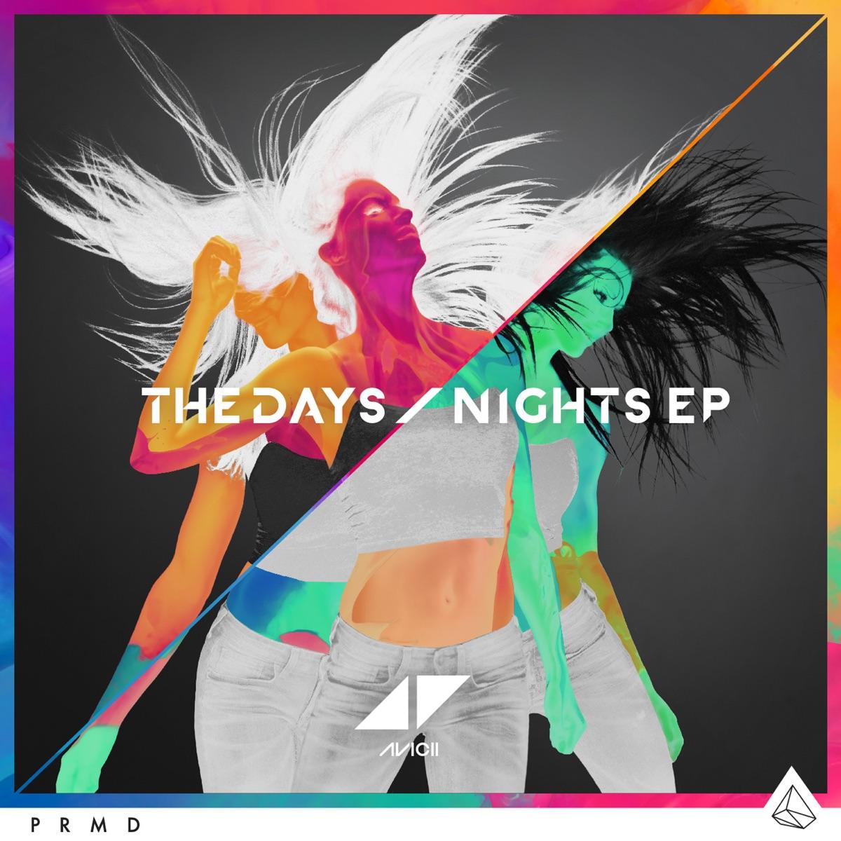 The DaysNights - EP Avicii CD cover