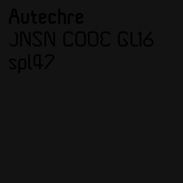 Jnsn Code Gl16 / Spl47 - Single