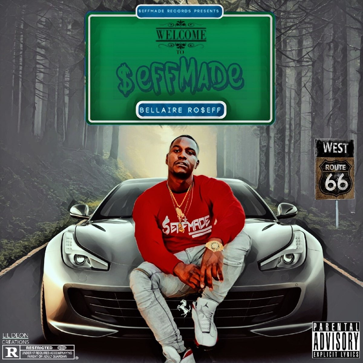 Fraud (feat. BigTae) by BellaireRo$eff
