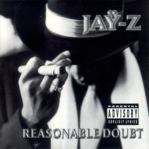 Reasonable Doubt JAY-Z CD cover