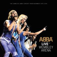 ABBA - Live at Wembley Arena artwork