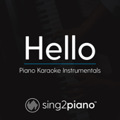 Hello (Originally Performed by Adele) [Piano Karaoke Version]