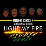 Inner Circle, Konshens & J Boog - Light My Fire