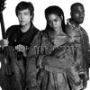 Rihanna and Kanye West and Paul McCartney - FourFiveSeconds  arte