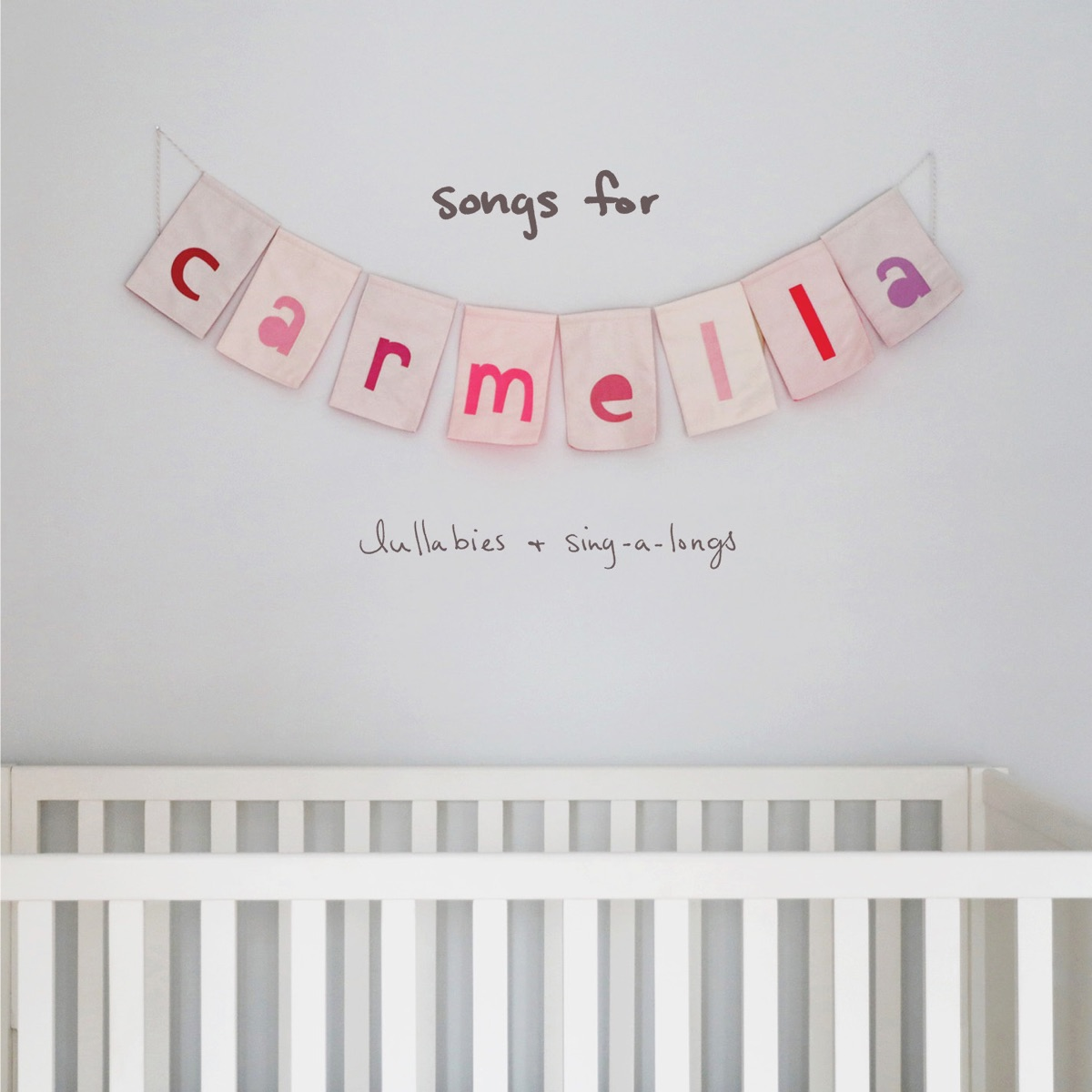 songs for carmella lullabies  sing-a-longs Christina Perri CD cover