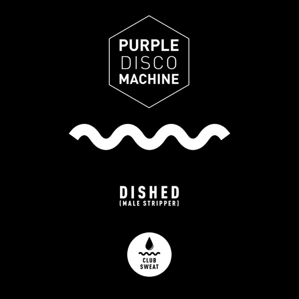 Purple Disco Machine - Dished (Male Stripper)