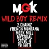 Wild Boy (feat. 2 Chainz, French Montana, Meek Mill, Mystikal, Steve-O & Yo Gotti) [Remix]  - Single, Machine Gun Kelly